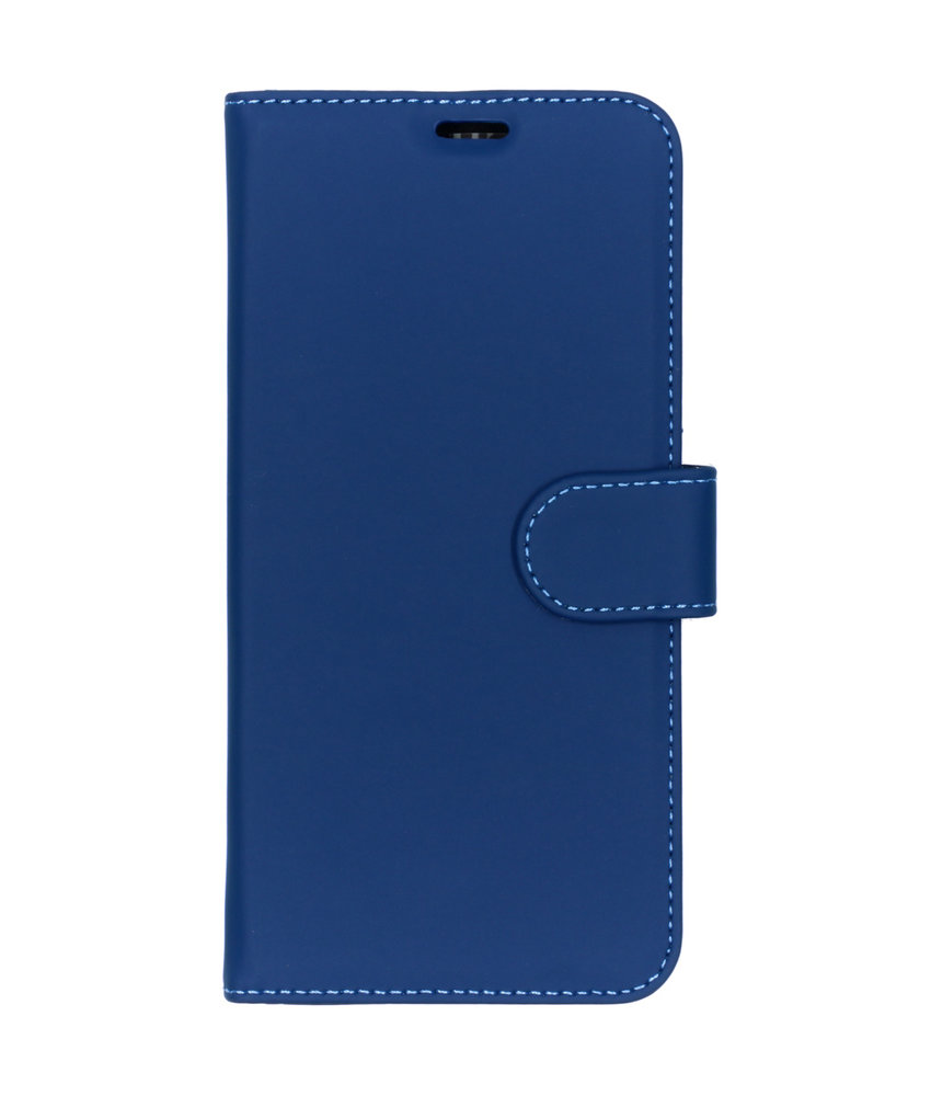 Accezz Wallet Softcase Booktype Huawei P Smart Plus (2019) - Blauw