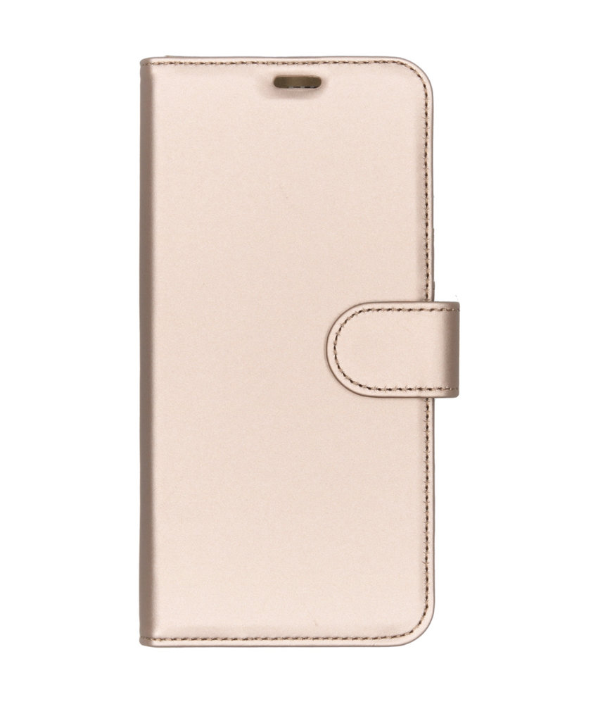 Accezz Wallet Softcase Booktype Huawei P Smart Plus (2019) - Goud