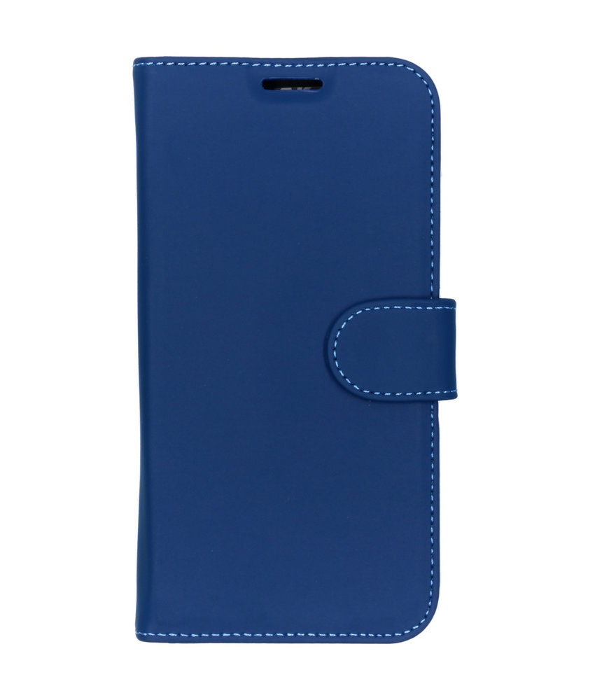 Accezz Wallet Softcase Booktype Huawei Y5 (2019) - Blauw