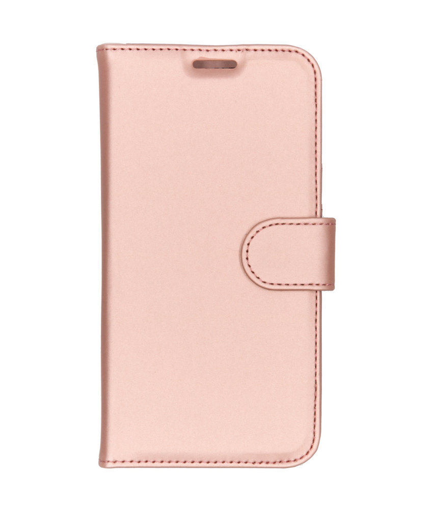 Accezz Wallet Softcase Booktype Huawei Y5 (2019) - Rosé Goud