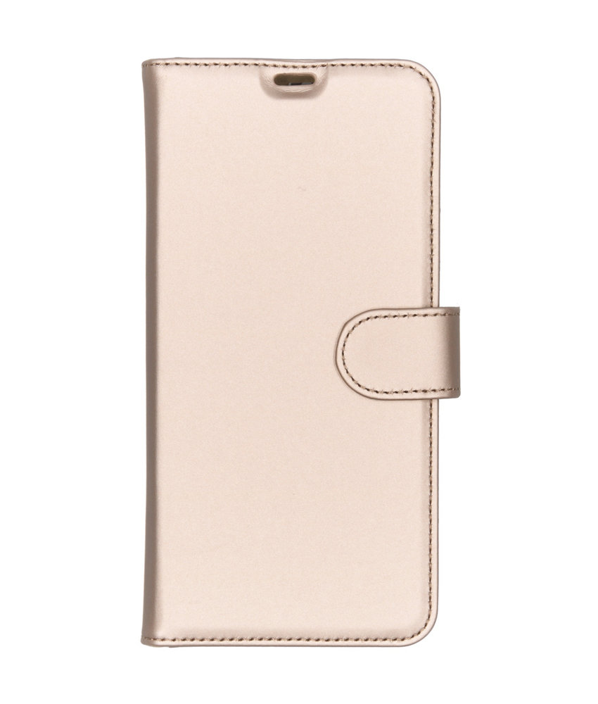 Accezz Wallet Softcase Booktype Huawei P Smart Z - Goud