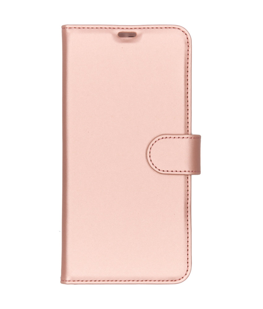 Accezz Wallet Softcase Booktype Huawei P Smart Z - Rosé Goud
