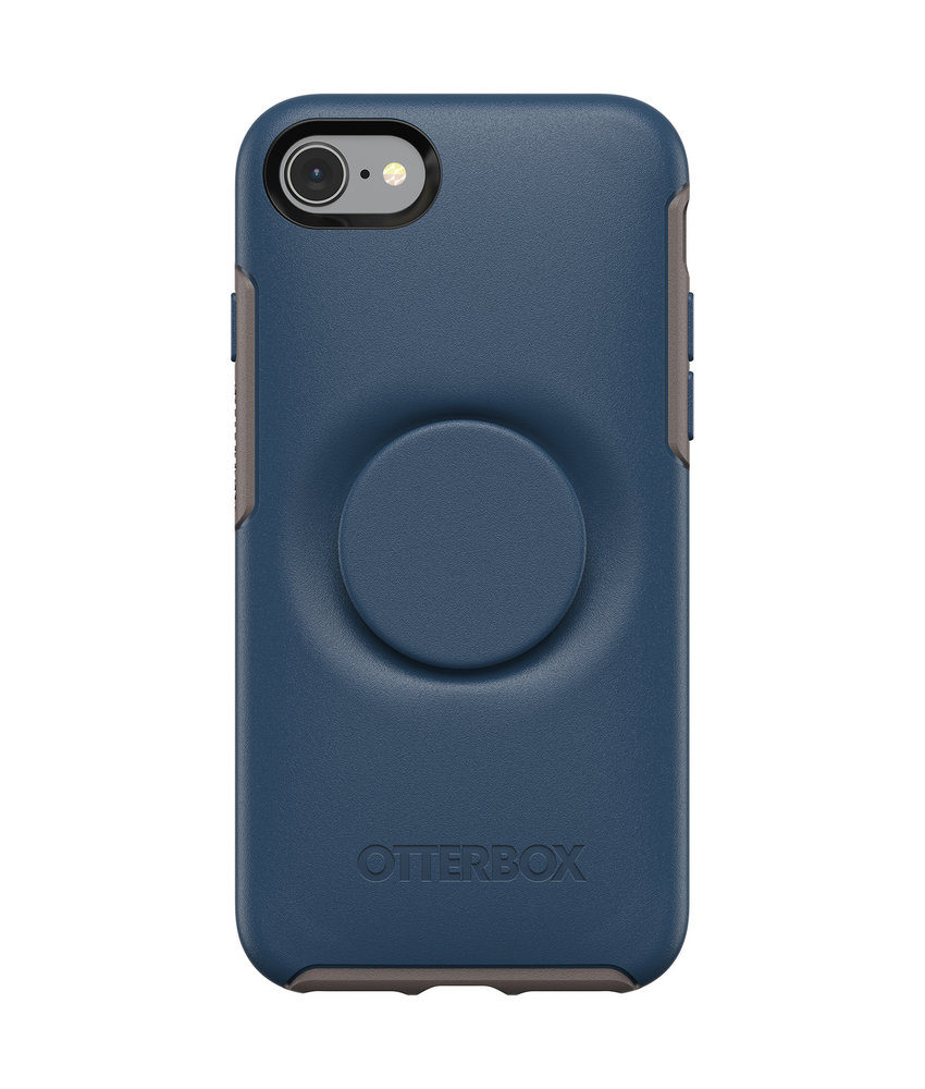 OtterBox Otter + Pop Symmetry Backcover iPhone 8 / 7 - Blauw