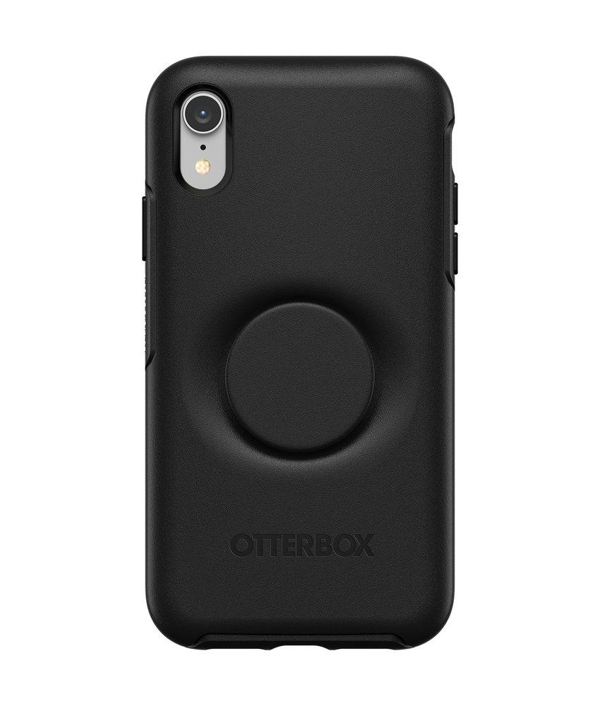 OtterBox Otter + Pop Symmetry Backcover iPhone Xr - Zwart