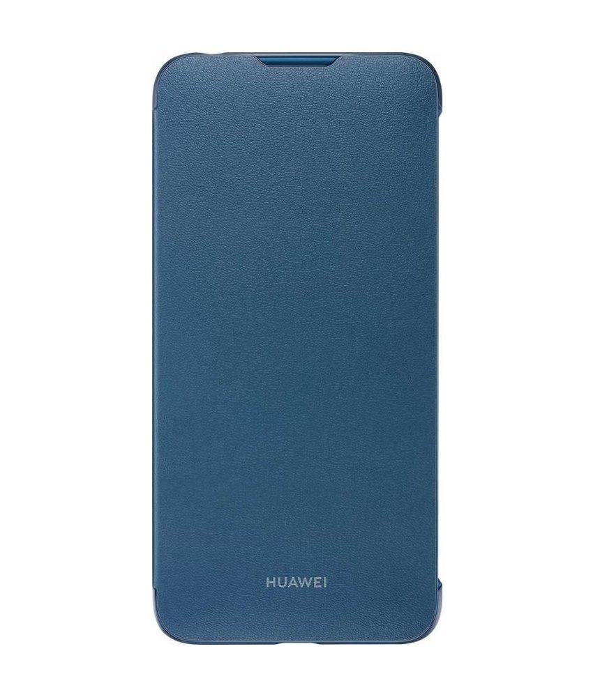 Huawei Flip Cover Huawei Y7 (2019) - Blauw