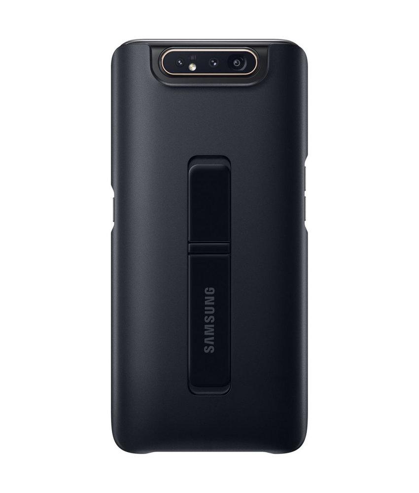 Samsung Standing Backcover Samsung Galaxy A80 - Zwart