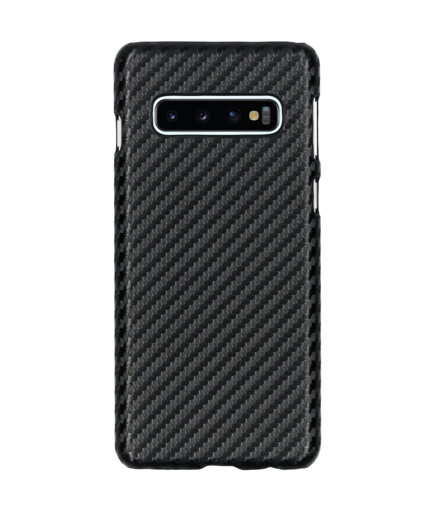 Carbon Hardcase Backcover Samsung Galaxy S10