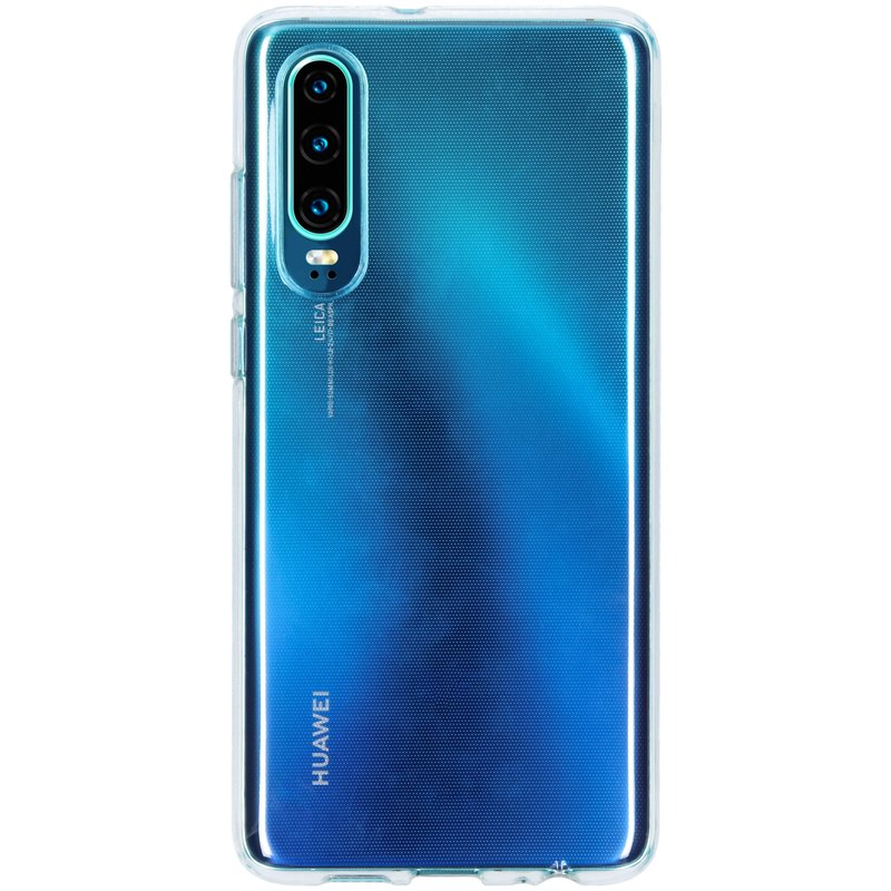 Softcase Backcover Huawei P30 - Transparant