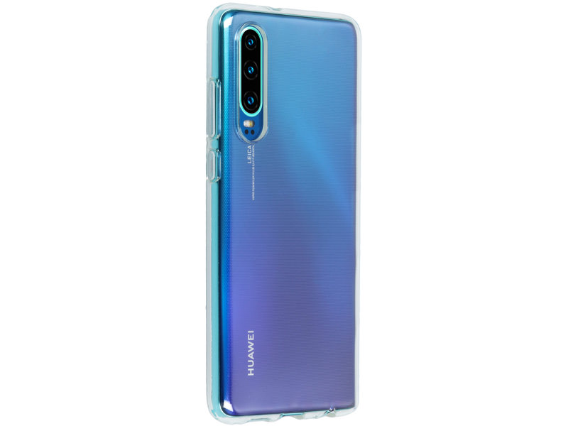 Huawei P30 hoesje - Softcase Backcover voor Huawei