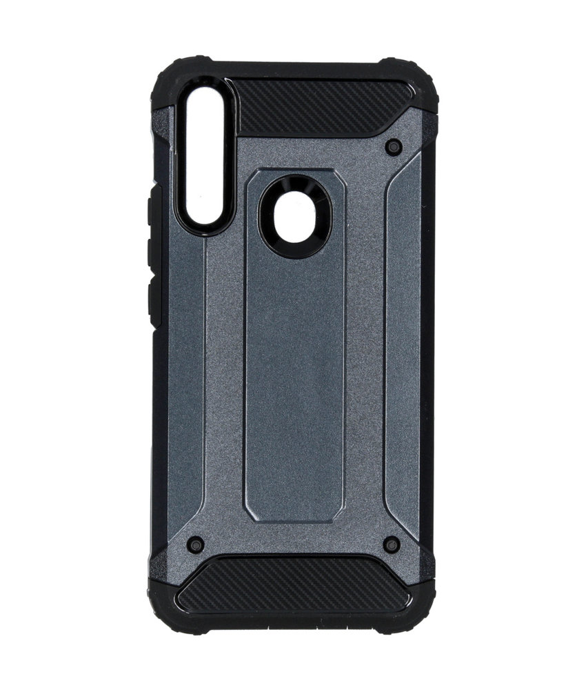 iMoshion Rugged Xtreme Backcover Huawei P Smart Z - Blauw