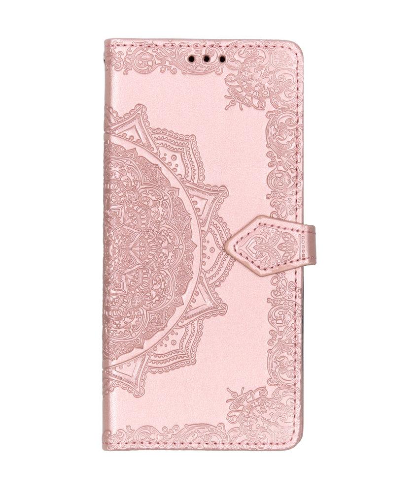 Mandala Booktype LG Q60 - Roze