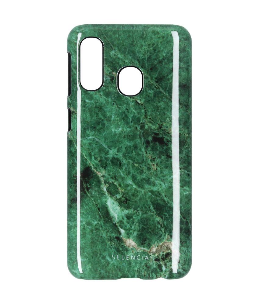 Selencia Design Hardcase Backcover Galaxy A40 - Paradise Island
