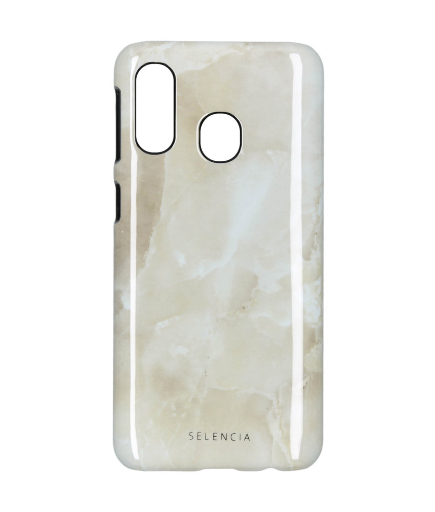 Selencia Design Hardcase Backcover Galaxy A40 - Mystic Stone