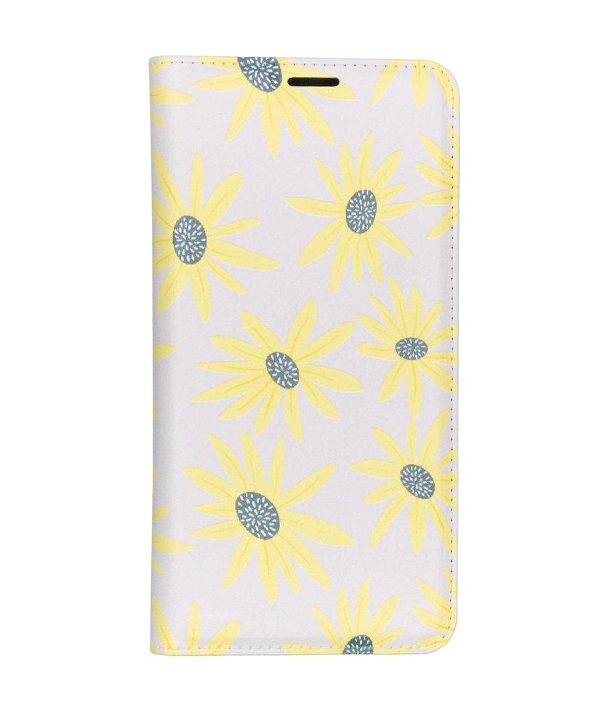 Design Softcase Booktype Samsung Galaxy A50