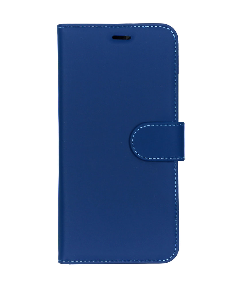 Accezz Wallet Softcase Booktype Nokia 8.1 - Donkerblauw
