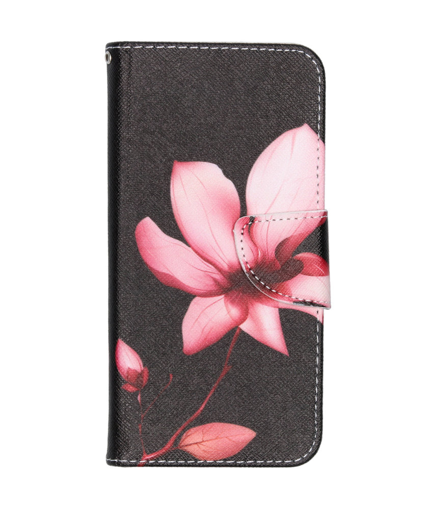Design Softcase Booktype Samsung Galaxy A20e