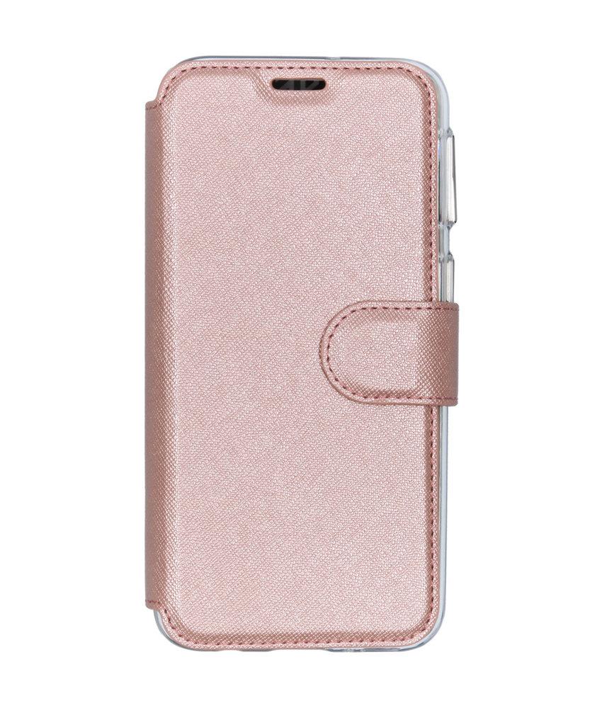 Accezz Xtreme Wallet Booktype Samsung Galaxy A40 - Rosé Goud