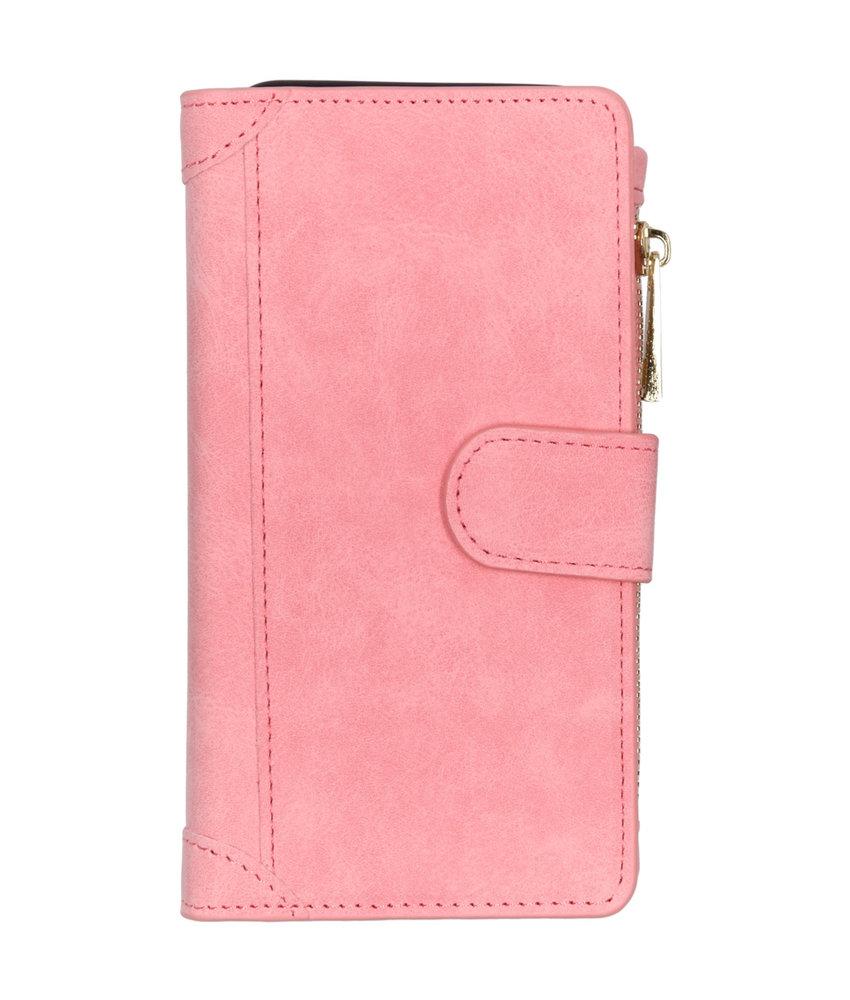 Luxe Portemonnee Samsung Galaxy A20e - Roze