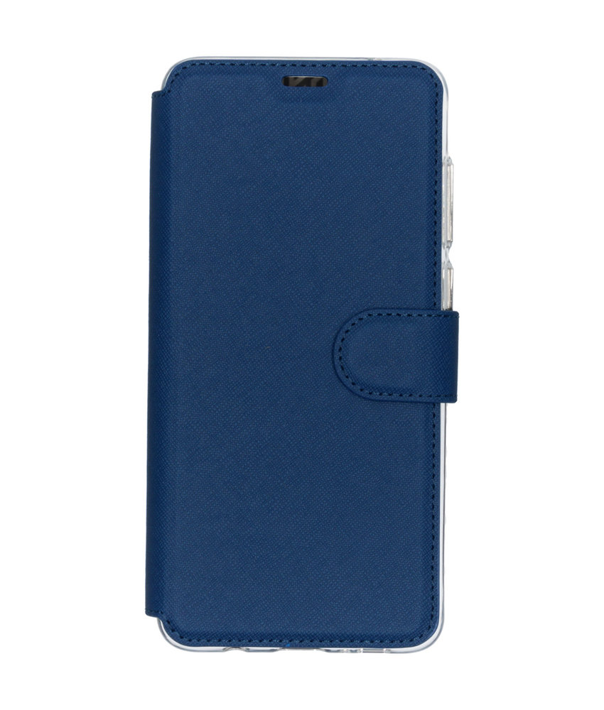 Accezz Xtreme Wallet Booktype Galaxy A9 (2018) - Donkerblauw