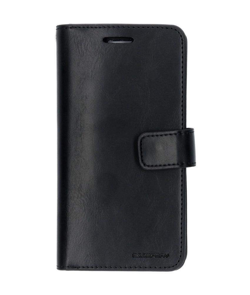 Mercury Goospery Mansoor Wallet Diary Booktype Samsung Galaxy S6 - Zwart