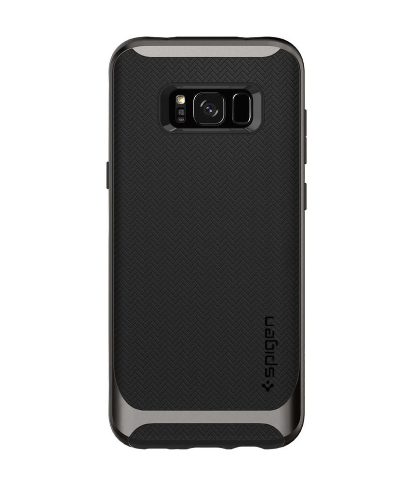 Spigen Neo Hybrid Backcover Samsung Galaxy S8 Plus - Zwart / Grijs