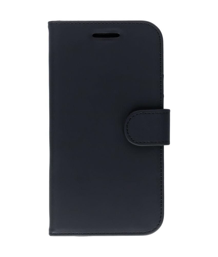 Accezz Wallet Softcase Booktype Motorola Moto G4 (Plus) - Zwart