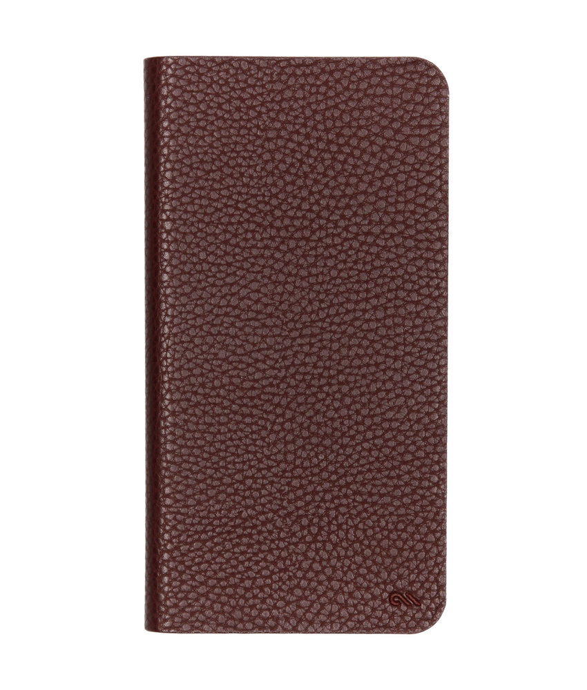 Case-Mate Barely There Booktype iPhone Xs Max - Bruin