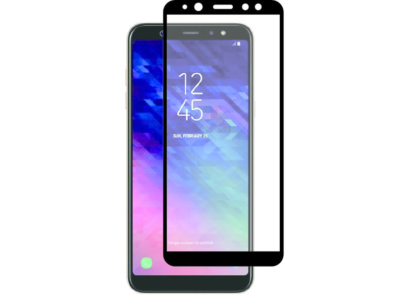 Selencia Gehard Glas Screenprotector voor Samsung Galaxy A6 (2018)