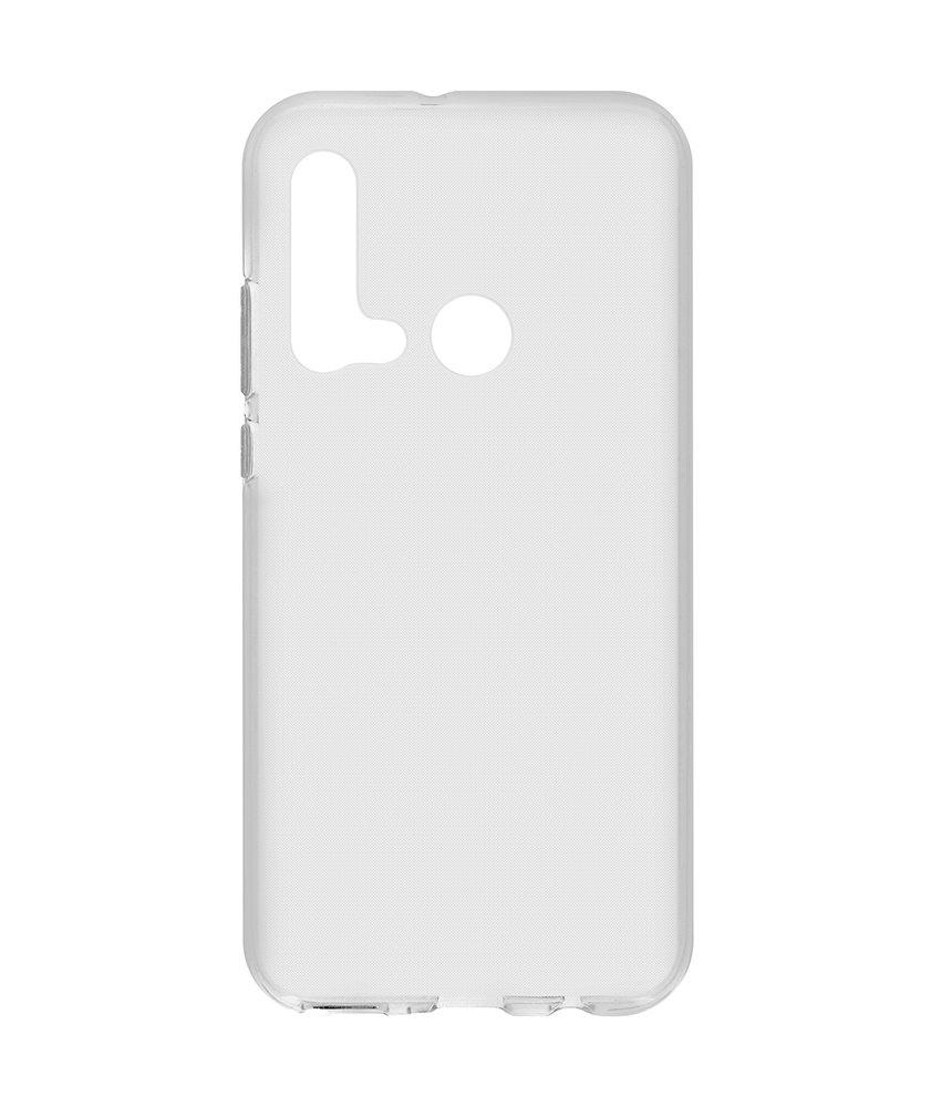 Softcase Backcover Huawei P20 Lite (2019) - Transparant