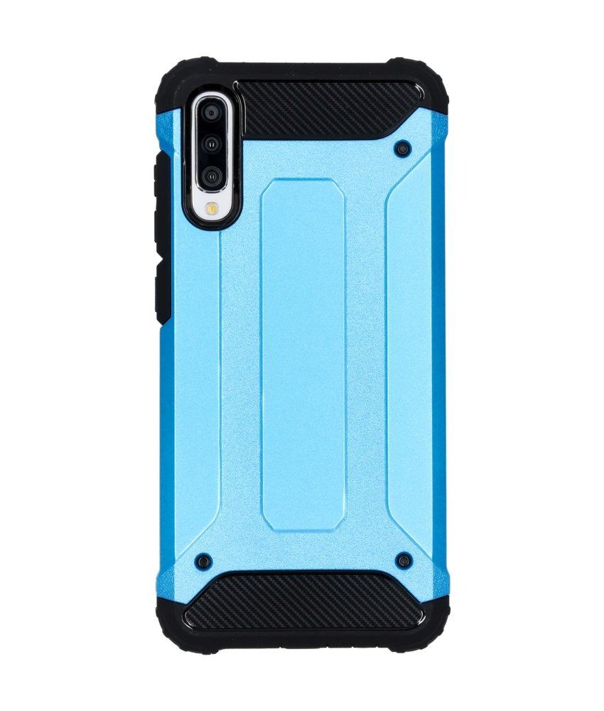 iMoshion Rugged Xtreme Backcover Samsung Galaxy A70 - Lichtblauw