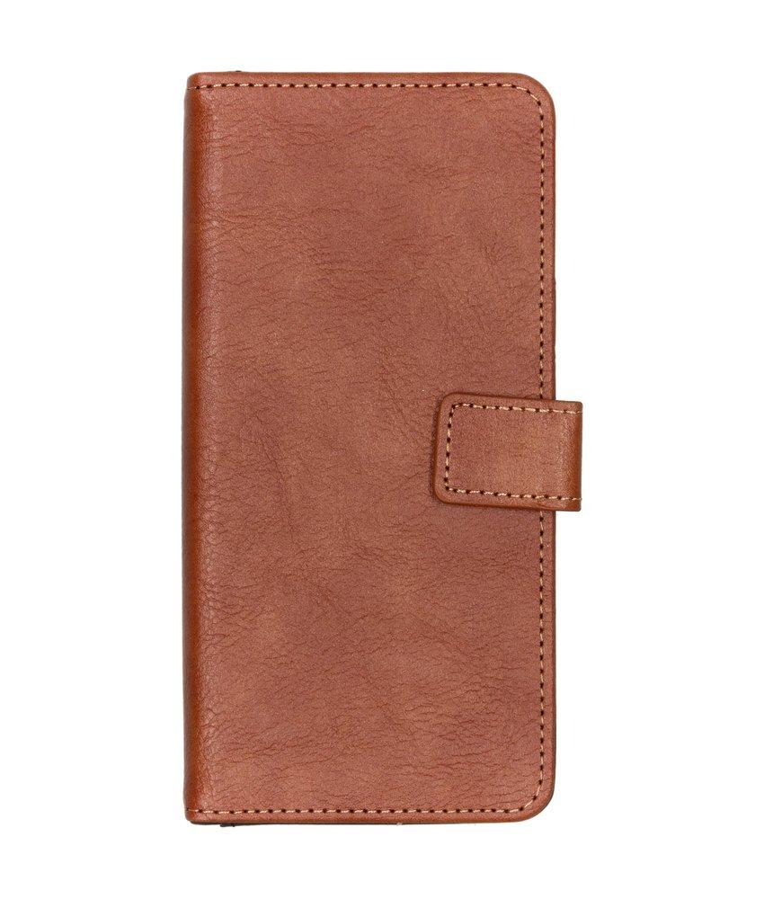 iMoshion Luxe Booktype Samsung Galaxy J4 Plus - Bruin