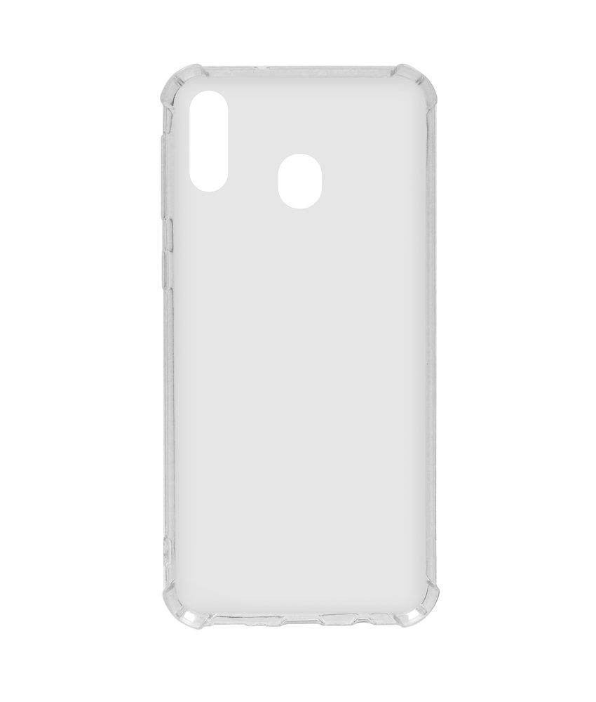 Softcase Backcover Samsung Galaxy M20 Power - Transparant