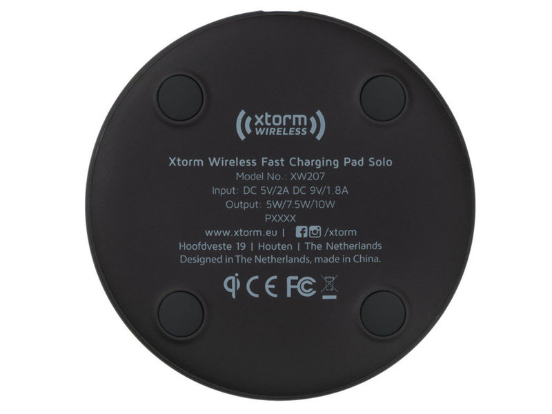 Xtorm Solo Fast Charge Wireless Pad - 10W