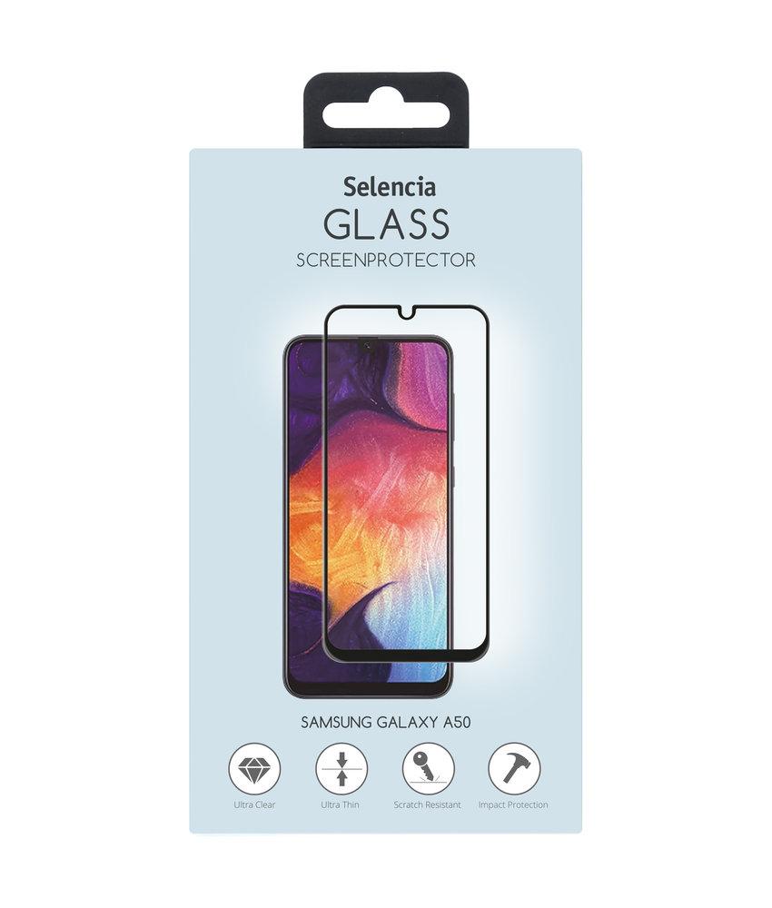 Selencia Gehard Glas Premium Screenprotector Samsung Galaxy A50