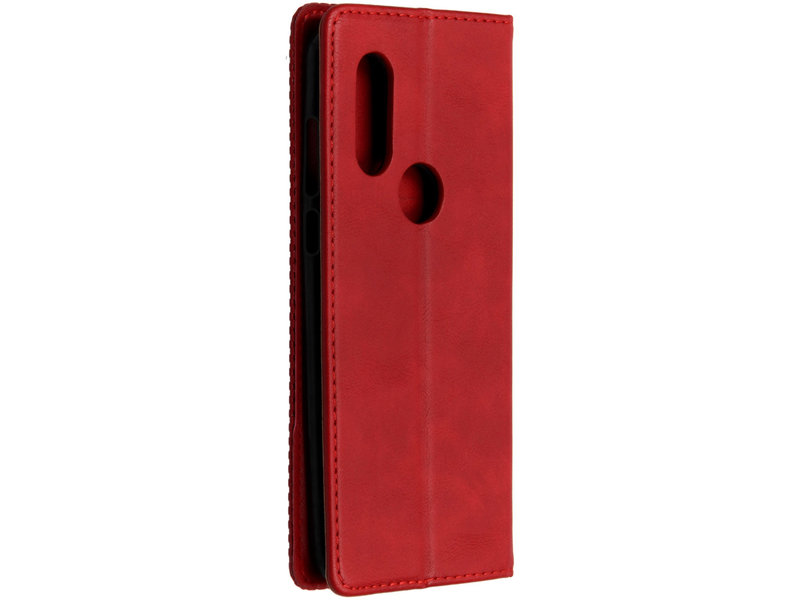 Motorola One Vision hoesje - Vintage Style Softcase Booktype