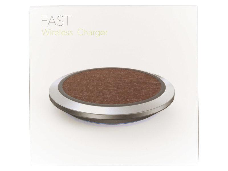 Fast Wireless Charger - Zwart
