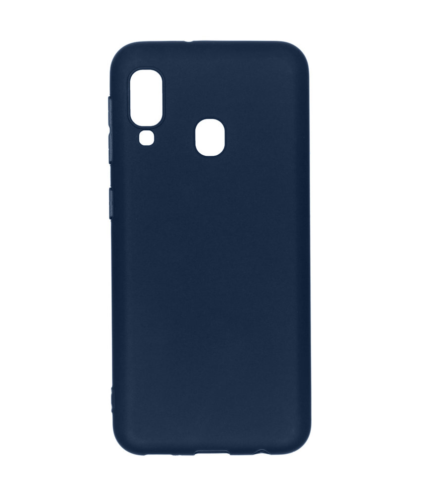 iMoshion Color Backcover Samsung Galaxy A20e - Donkerblauw