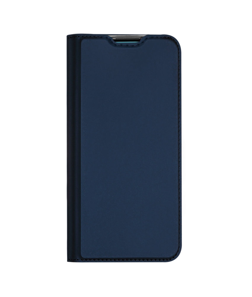 Dux Ducis Slim Softcase Booktype Huawei P20 Lite (2019) - Donkerblauw