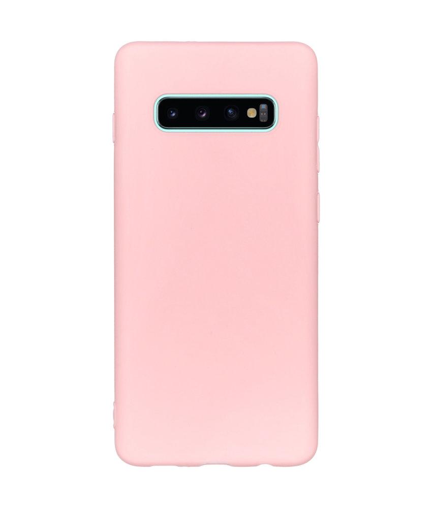 iMoshion Color Backcover Samsung Galaxy S10 Plus - Roze