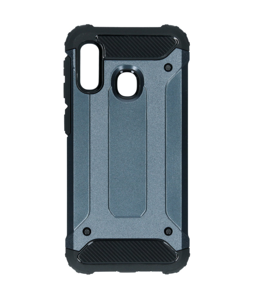iMoshion Rugged Xtreme Backcover Samsung Galaxy A20e - Donkerblauw