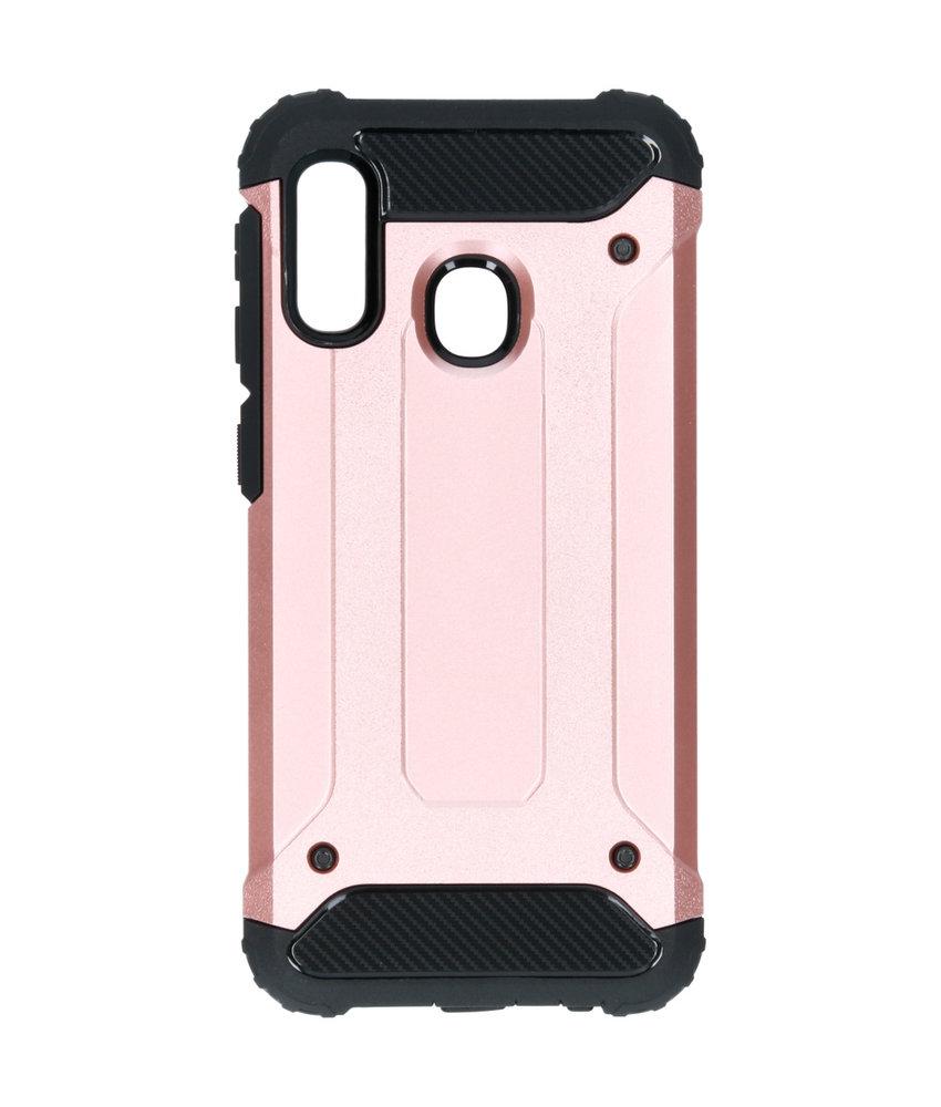 iMoshion Rugged Xtreme Backcover Samsung Galaxy A20e - Rosé Goud