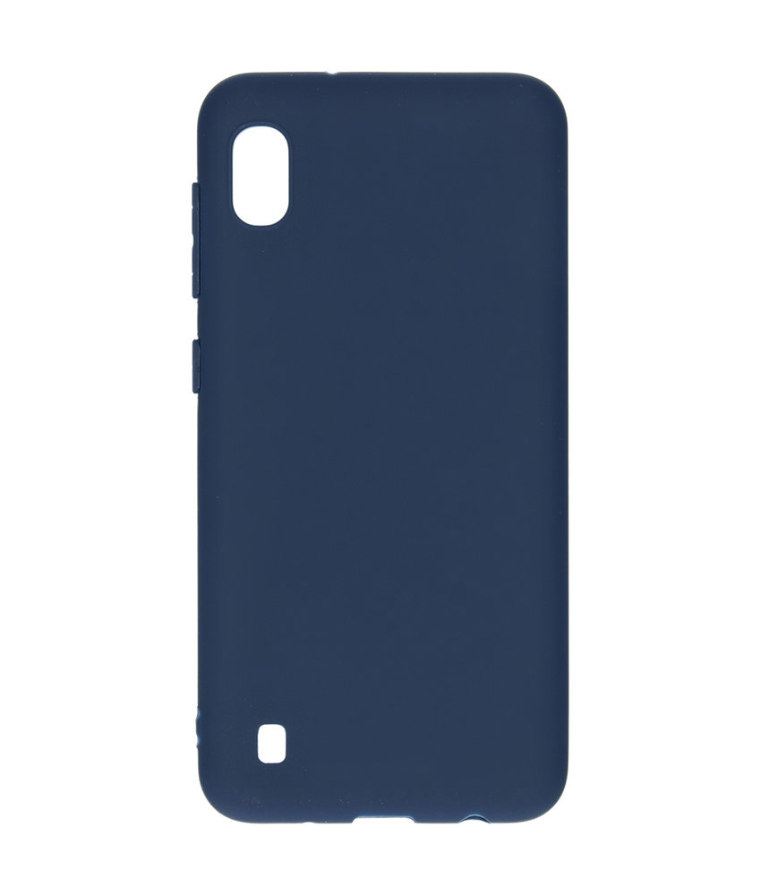 iMoshion Color Backcover Samsung Galaxy A10 - Donkerblauw