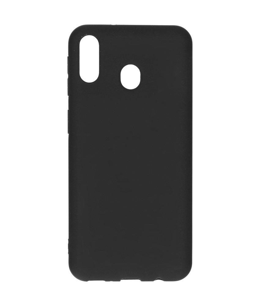 iMoshion Color Backcover Samsung Galaxy M20 Power - Zwart