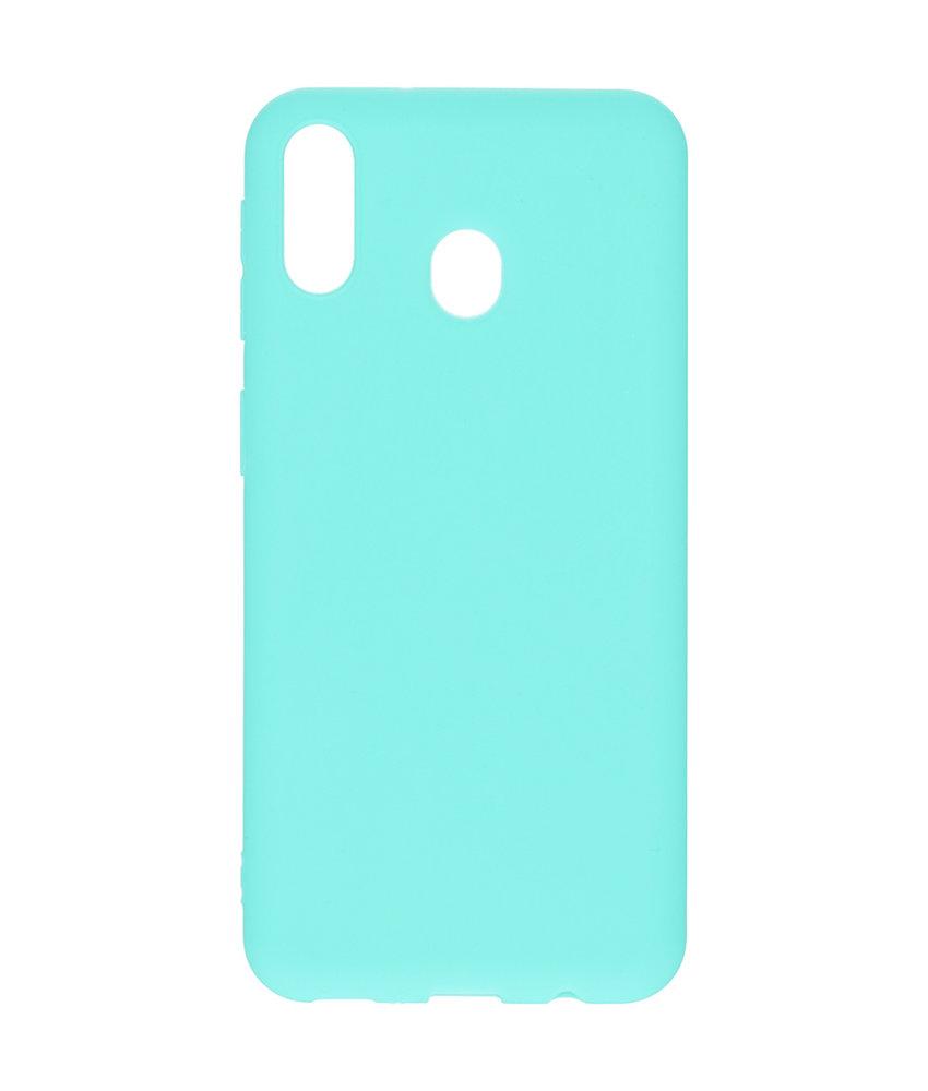 iMoshion Color Backcover Samsung Galaxy M20 Power - Mintgroen