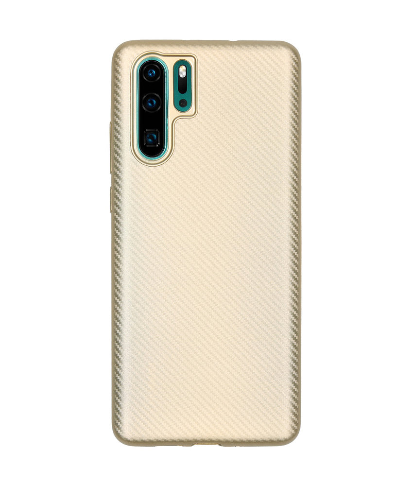 Carbon Softcase Backcover Huawei P30 Pro