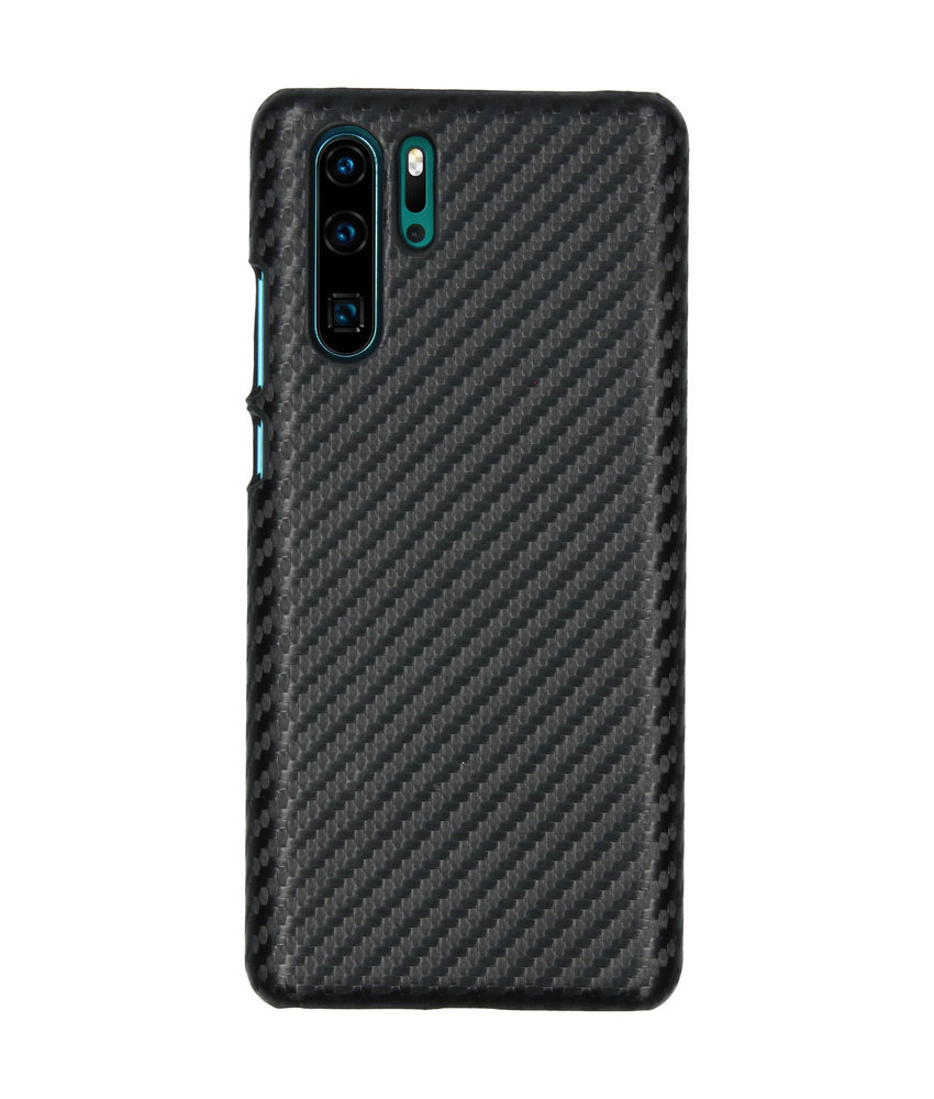 Carbon Hardcase Backcover Huawei P30 Pro