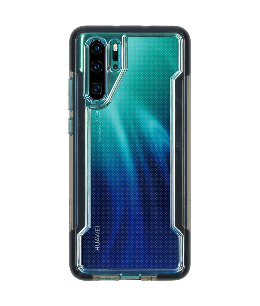 X-Doria Defense Clear Backcover Huawei P30 Pro - Zwart