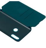 Huawei Wallet Booktype voor de Huawei P Smart Z - Donkergroen