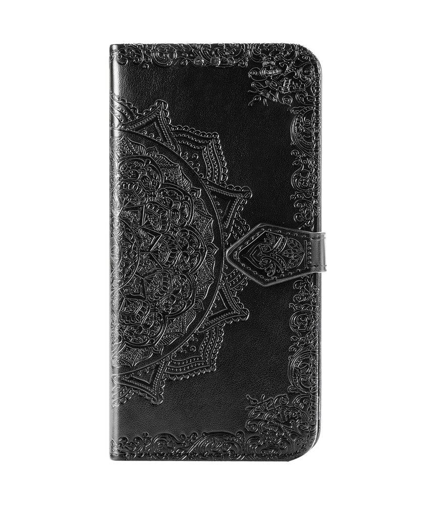 Mandala Booktype iPhone 11 Pro - Zwart