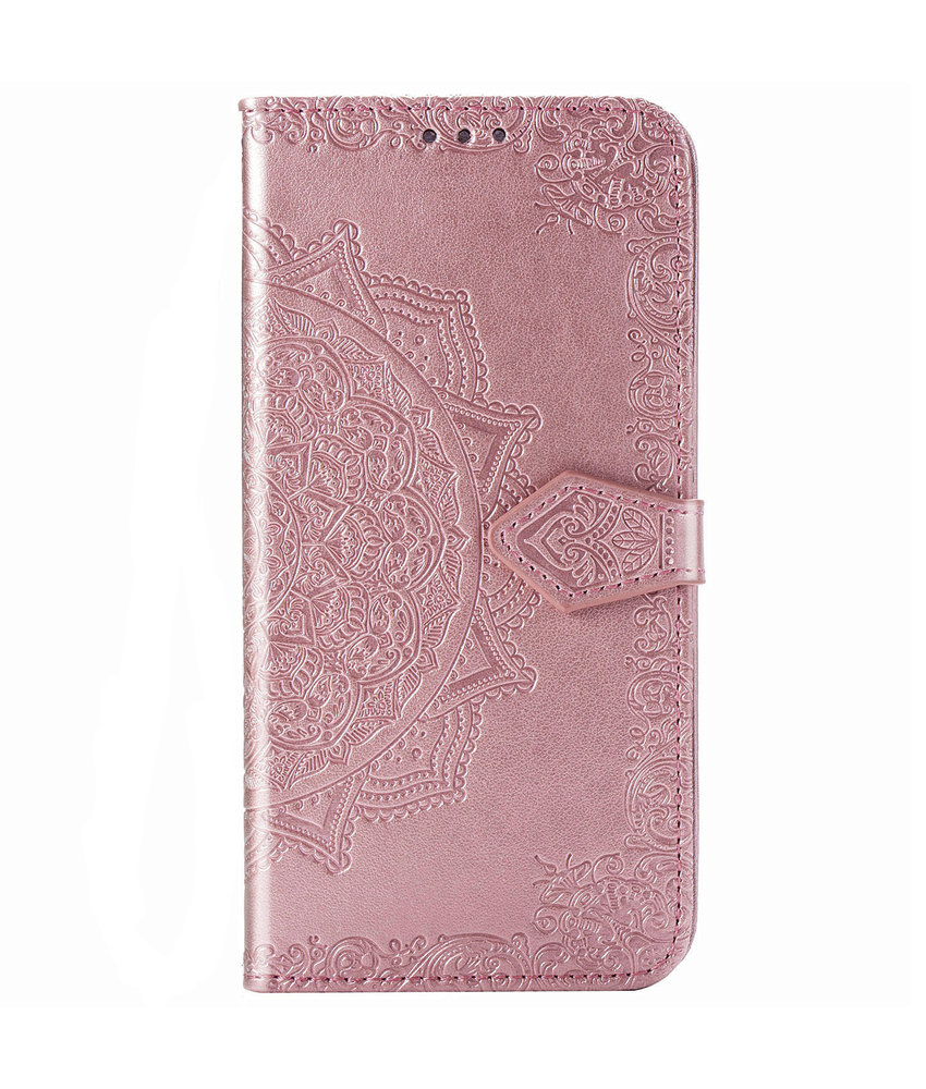 Mandala Booktype iPhone 11 - Roze